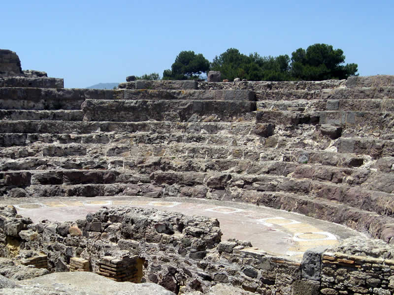Roman Theater of Nora: Pula tour guide